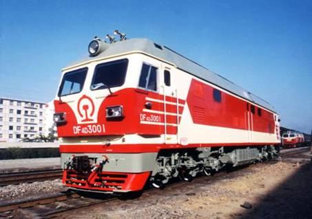 次大提速的主型机车 东风4D型客运内燃机车