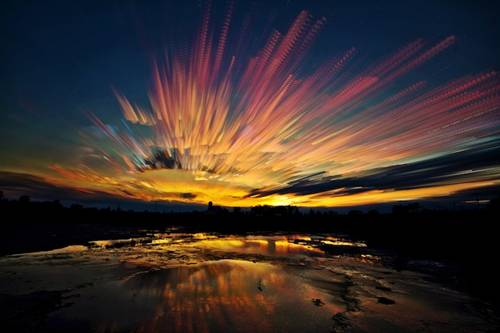 风光摄影:梦幻天空(2)图片