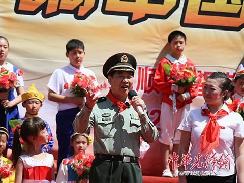 """抚顺市雷锋小学:""""红领巾唱响中国梦"""""""