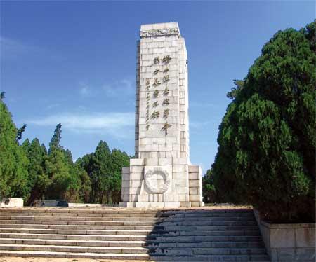 葫芦岛市塔山烈士陵园