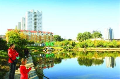鞍山全民参与迈向国家园林城市